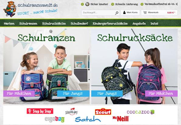 Shop Schulranzenwelt